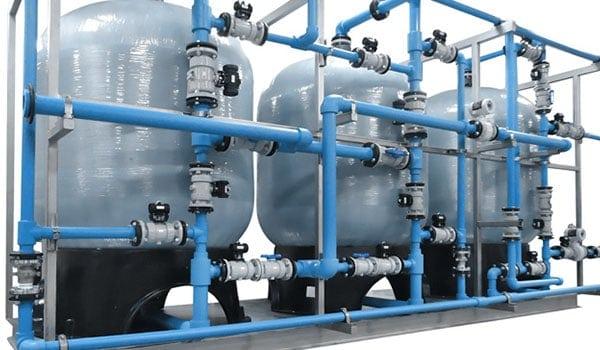 обслуживание и ремонт систем очистки воды Промышленные системы очистки воды