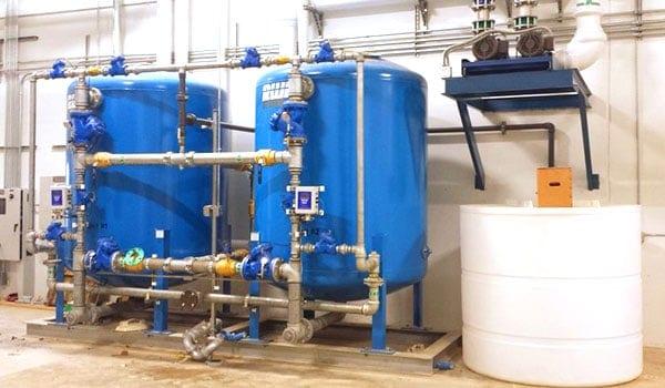 Обслуживание фильтров для воды Промышленные системы очистки воды