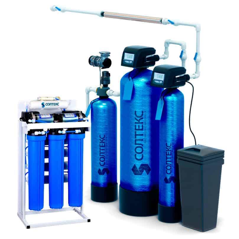 Система очистки воды в коттедж. Комплект «Премиум»