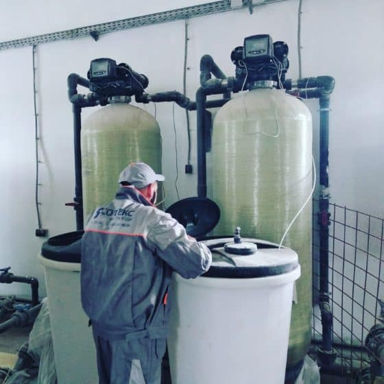 Обслуживание и ремонт систем очистки воды